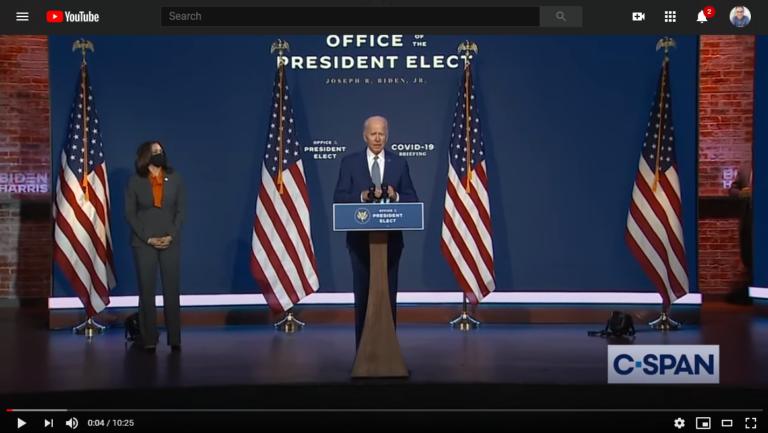 President-elect Joe Biden Covid-19 Briefing