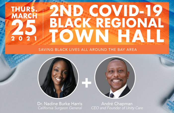 Saving Black Lives All Around the Bay Area, A Regional Town Hall Event